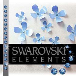 Sada 15 adhezivních  krystalů Fanastick Sapphire