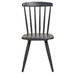 Sada 2 antracitově šedých jídelních židlí Marckeric Jade