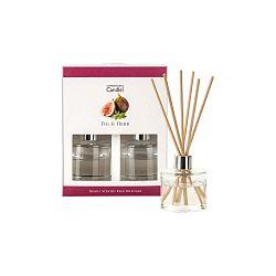Sada 2 aroma difuzérů s vůní fíků a bylinek Copenhagen Candles, 40 ml
