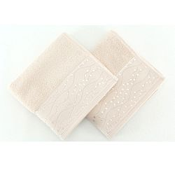 Sada 2 bavlněných ručníků Tomuruk, 50x90 cm