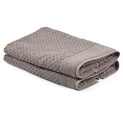 Sada 2 béžových ručníků Beverly Hills Polo Club Mosley, 50x80cm