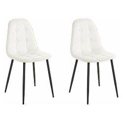 Sada 2 bílých židlí Støraa Lamar