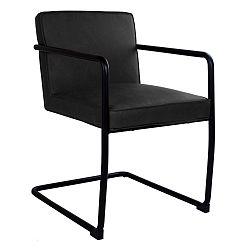 Sada 2 černých jídelních židlí House Nordic Valbo