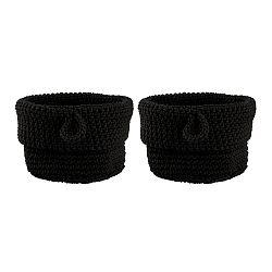 Sada 2 černých košíků Zone Confetti, ∅13cm