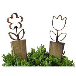 Sada 2 dekorací do květináče Ego Dekor Palo M