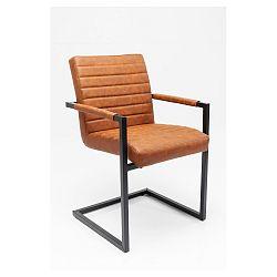 Sada 2 hnědých židlí Kare Design Barone