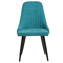 Sada 2 modrých jídelních židlí Marckeric Mina