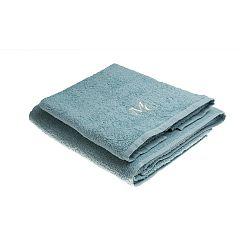 Sada 2 modrých ručníků Samantha