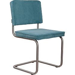 Sada 2 modrých židlí Zuiver Ridge Brushed Rib