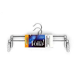Sada 2 ocelových nastavitelných ramínek s protiskluzovou úpravou na kalhoty Cosatto Voila