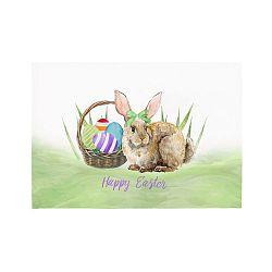 Sada 2 prostírání Apolena Easter Basket Rabbit, 33x45cm