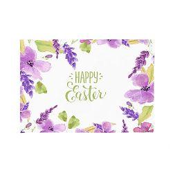 Sada 2 prostírání Apolena Happy Easter Flowers, 33x45cm