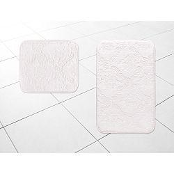Sada 2 pudrově růžových koupelnových předložek Beldon