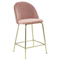 Sada 2 růžových barových židlí Mauro Ferretti Luxury