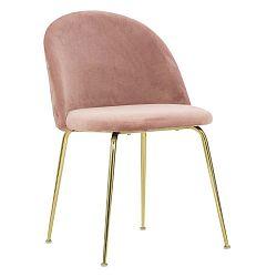 Sada 2 růžových židlí Mauro Ferretti Luxury