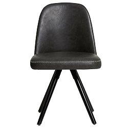 Sada 2 šedých jídelních židlí Marckeric Natal