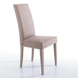 Sada 2 světle růžových jídelních židlí Tomasucci Lella