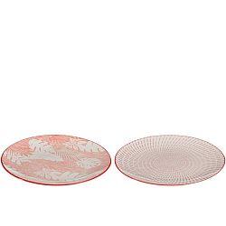 Sada 2 talířů J-Line Tropic Days, ⌀ 26cm