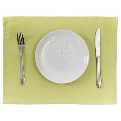 Sada 2 zelených prostírání Apolena Simply Green, 33x45 cm