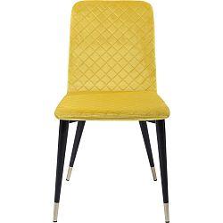 Sada 2 žlutých jídelních židlí Kare Design Montmartre