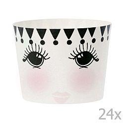 Sada 24 pečicích košíčků Miss Étoile Eyes And Dots