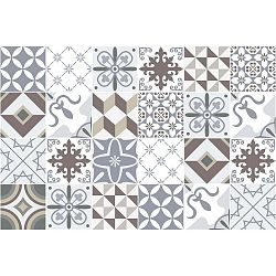 Sada 24 samolepek Ambiance Mosaic Portugal, 80 x 120 cm