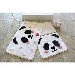 Sada 3 předložek do koupelny Alessia Panda