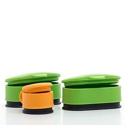 Sada 3 uzavíratelných komponentů na potravinové sáčky InnovaGoods