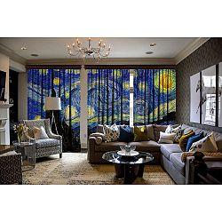 Sada 3 závěsů Curtain Malisto, 140 x 260 cm
