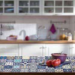 Sada 30 samolepek na nábytek Ambiance Tiles Stickers For Furniture Lubina, 15 x 15 cm