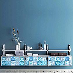 Sada 30 samolepek na nábytek Ambiance Tiles Stickers For Furniture Suzia, 15 x 15 cm