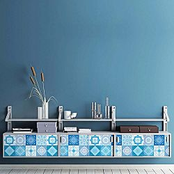 Sada 30 samolepek na nábytek Ambiance Tiles Stickers For Furniture Suzia, 20 x 20 cm