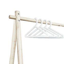 Sada 4 bílých ramínek k věšáku Karup Design Hongi White