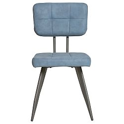 Sada 4 modrých jídelních židlí Marckeric Sofy