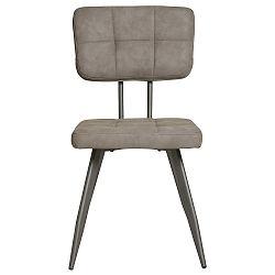 Sada 4 šedých jídelních židlí Marckeric Sofy