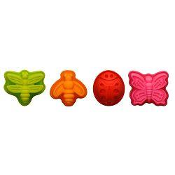 Sada 4 silikonových formiček na dortíky Premier Housewares