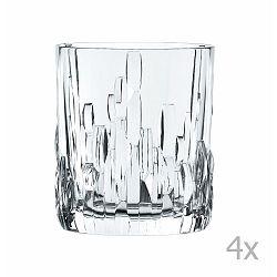 Sada 4 sklenic na whiskey z křišťálového skla Nachtmann Shu Fa, 330ml