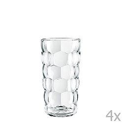 Sada 4 skleniček z křišťálového skla Nachtmann Bubbles, 390ml