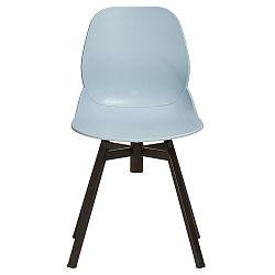 Sada 4 světle modrých jídelních židlí Marckeric Alice