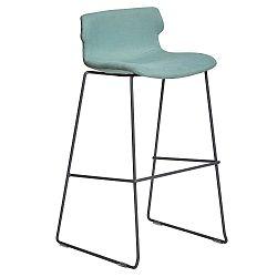 Sada 4 světle zelených barových židlí Marckeric Cala