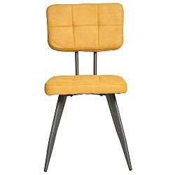 Sada 4 žlutých jídelních židlí Marckeric Sofy