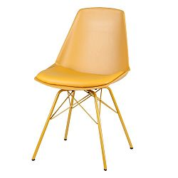 Sada 4 žlutých židlí sømcasa Tania