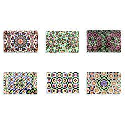 Sada 6 plastových prostírání Villa d'Este Marrakech