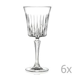 Sada 6 sklenic na sekt RCR Cristalleria Italiana Bice, 230ml
