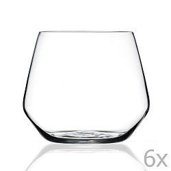 Sada 6 sklenic RCR Cristalleria Italiana Ambra