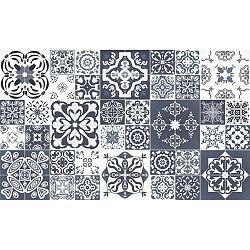 Sada 60 samolepek Ambiance Tanoura Simple, 90 x 150 cm