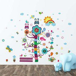 Sada dětských samolepek na zeď Ambiance Magic Tree