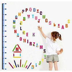 Sada nástěnných samolepek Ambiance Kids Alphabet