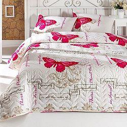 Sada přehozu přes postel a polštářů Cocona, 200x220 cm
