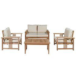 Sada zahradního nábytku z teakového dřeva Santiago Pons Swedia